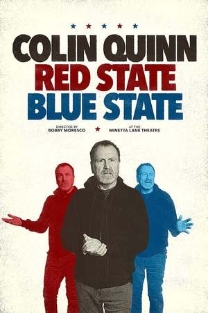 Poster: Colin Quinn: Red State, Blue State