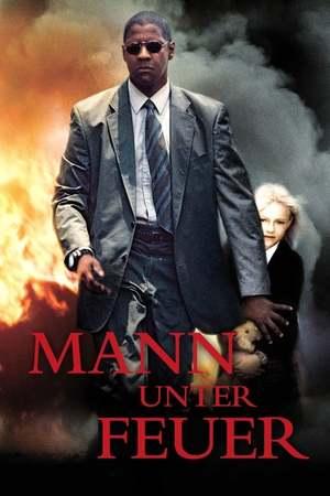 Poster: Mann unter Feuer