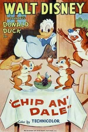 Poster: Donald, der Nußdieb