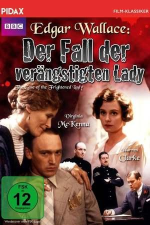 Poster: Edgar Wallace - Der Fall der verängstigten Lady