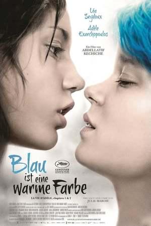 Poster: Blau ist eine warme Farbe