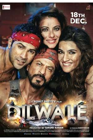 Poster: Dilwale - Ich liebe Dich