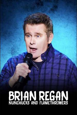 Poster: Brian Regan: Nunchucks and Flamethrowers