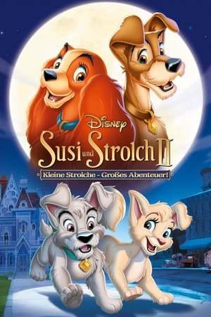 Poster: Susi und Strolch 2 Kleine Strolche - Großes Abenteuer!