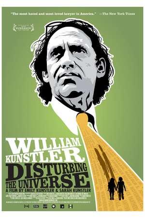 Poster: William Kunstler: Disturbing the Universe