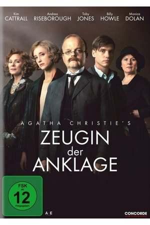 Poster: Agatha Christie's Zeugin der Anklage