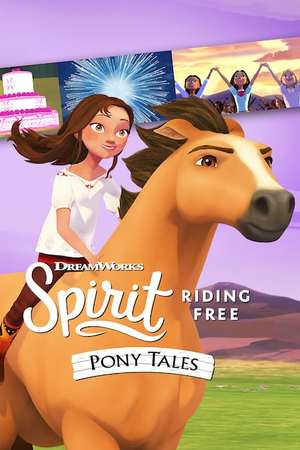 Poster: Spirit Riding Free: Pony Tales