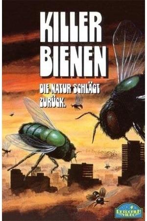 Poster: Killerbienen - Mörderbienen greifen an