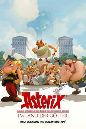 Poster: Asterix im Land der Götter