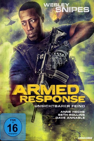 Poster: Armed Response - Unsichtbarer Feind