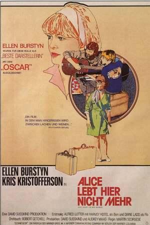 Poster: Alice lebt hier nicht mehr