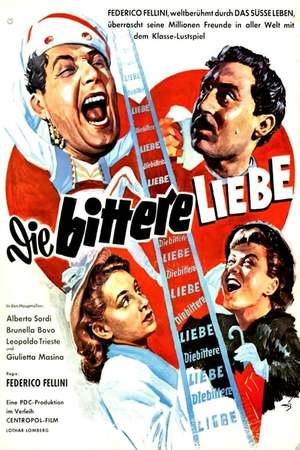 Poster: Die bittere Liebe