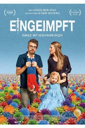 Poster: Eingeimpft - Familie mit Nebenwirkungen