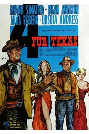 Poster: Vier für Texas