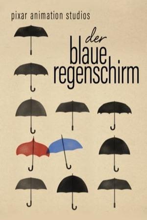 Poster: Der blaue Regenschirm