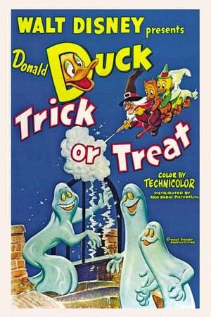 Poster: Donald, Geister und Gespenster