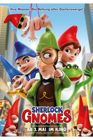 Poster: Sherlock Gnomes