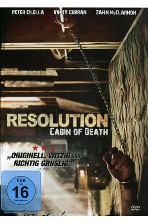 Poster: Resolution - Cabin of Death