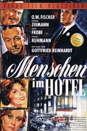 Poster: Menschen im Hotel