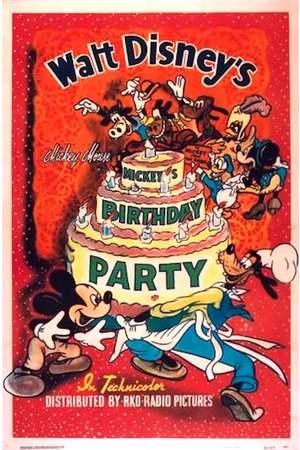 Poster: Mickys Geburtstag
