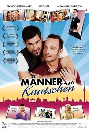 Poster: Männer zum Knutschen