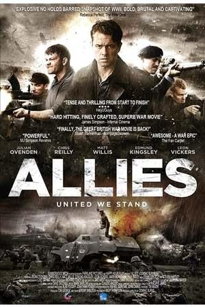 Poster: Die Alliierten - Hinter feindlichen Linien