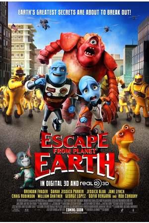 Poster: Nix wie weg - vom Planeten Erde