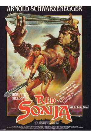 Poster: Red Sonja