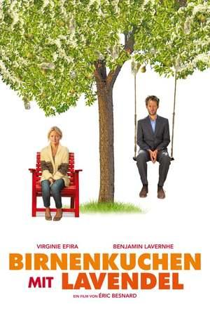 Poster: Birnenkuchen mit Lavendel