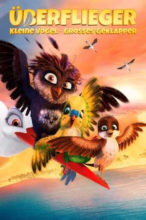 Poster: Überflieger – Kleine Vögel, großes Geklapper