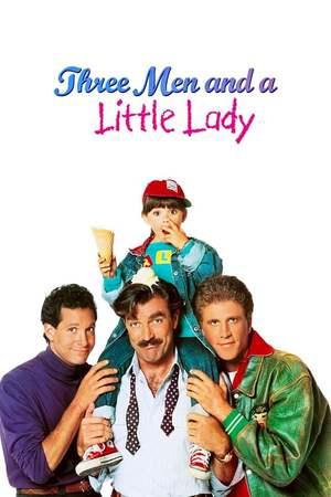 Poster: Drei Männer und eine kleine Lady