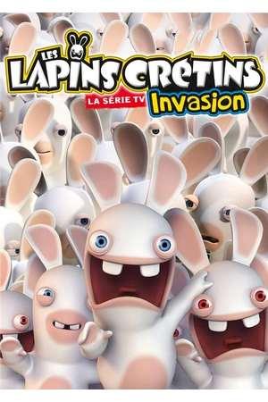 Poster: Les Lapins Crétins : Invasion