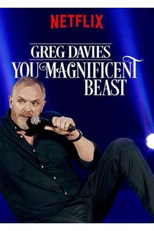Poster: Greg Davies: You Magnificent Beast