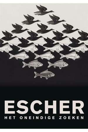 Poster: Escher: Het oneindige zoeken