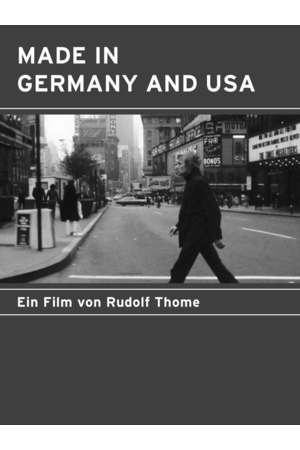 Poster: Made in Germany und USA