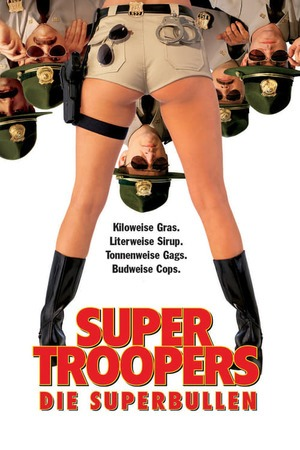 Poster: Super Troopers - Die Superbullen