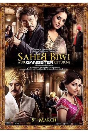 Poster: Saheb Biwi Aur Gangster Returns