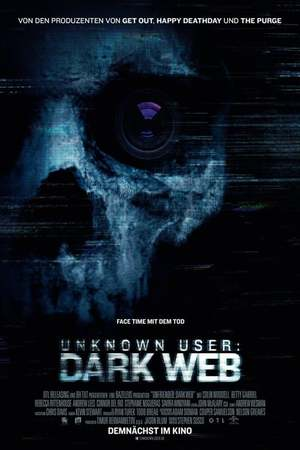 Poster: Unknown User: Dark Web