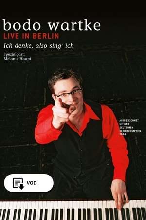 Poster: Ich denke, also sing ich