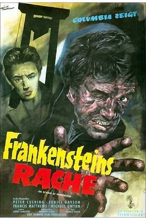 Poster: Frankensteins Rache