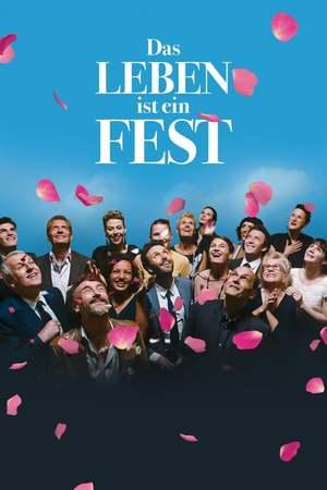Poster: Das Leben ist ein Fest