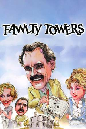 Poster: Das verrückte Hotel – Fawlty Towers