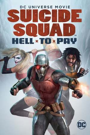 Poster: Suicide Squad: Hell to Pay