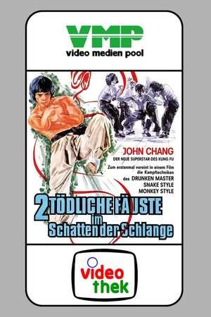 Poster: 2 tödliche Fäuste im Schatten der Schlange