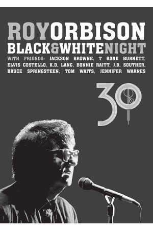 Poster: Roy Orbison: Black and White Night 30