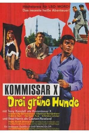 Poster: Kommissar X - Drei grüne Hunde