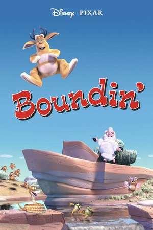 Poster: Boundin' - Ein Schaf ist von der Wolle