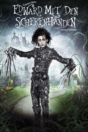 Poster: Edward mit den Scherenhänden