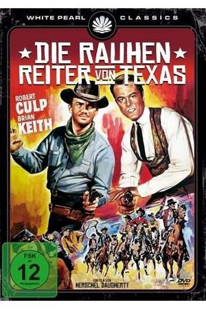 Poster: Die rauhen Reiter von Texas