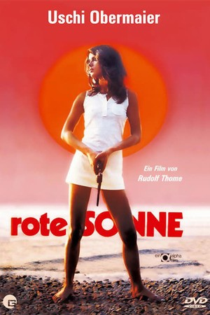Poster: Rote Sonne